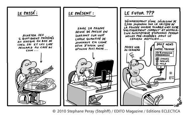 Humour : infobésité - Stephane PERAY