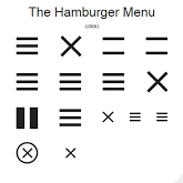 Menu Hamburger